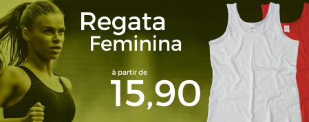 Regata Feminina à partir de R$ 15,90